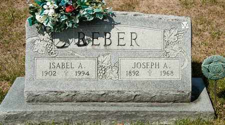 REBER, JOSEPH A - Richland County, Ohio | JOSEPH A REBER - Ohio Gravestone Photos