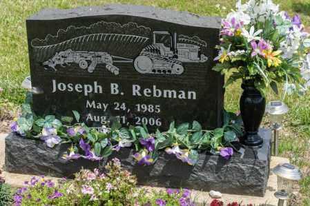 REBMAN, JOSEPH B - Richland County, Ohio | JOSEPH B REBMAN - Ohio Gravestone Photos