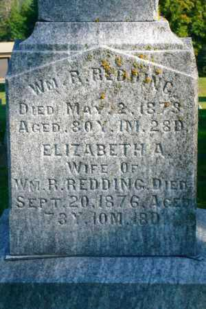 REDDING, WILLIAM R. - Richland County, Ohio | WILLIAM R. REDDING - Ohio Gravestone Photos