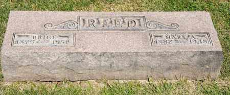 REED, BRICE - Richland County, Ohio | BRICE REED - Ohio Gravestone Photos