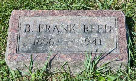 REED, B FRANK - Richland County, Ohio | B FRANK REED - Ohio Gravestone Photos