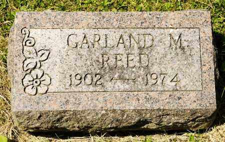 REED, GARLAND M - Richland County, Ohio | GARLAND M REED - Ohio Gravestone Photos