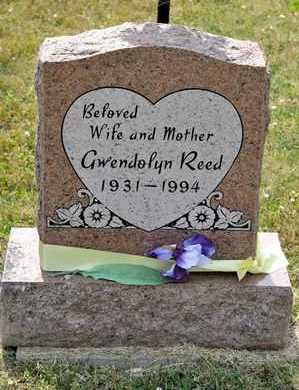 REED, GWENDOLYN - Richland County, Ohio | GWENDOLYN REED - Ohio Gravestone Photos