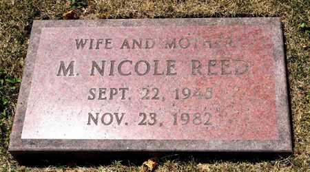 REED, M NICOLE - Richland County, Ohio | M NICOLE REED - Ohio Gravestone Photos