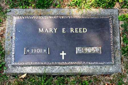 REED, MARY E - Richland County, Ohio | MARY E REED - Ohio Gravestone Photos