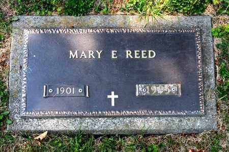 REED, MARY E - Richland County, Ohio | MARY E REED - Ohio Gravestone Photos
