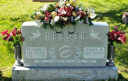 REEDER, RICHARD C - Richland County, Ohio | RICHARD C REEDER - Ohio Gravestone Photos