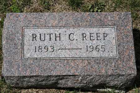 REEP, RUTH C - Richland County, Ohio | RUTH C REEP - Ohio Gravestone Photos