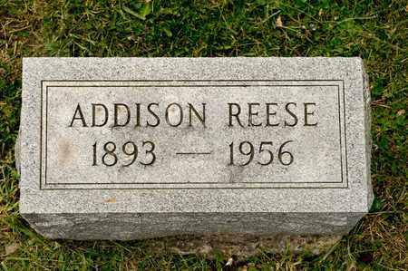 REESE, ADDISON - Richland County, Ohio | ADDISON REESE - Ohio Gravestone Photos