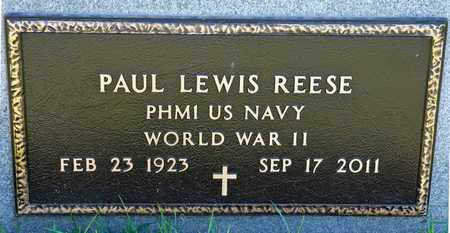 REESE, PAUL LEWIS - Richland County, Ohio | PAUL LEWIS REESE - Ohio Gravestone Photos