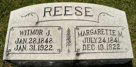 REESE, WITMOR J - Richland County, Ohio | WITMOR J REESE - Ohio Gravestone Photos