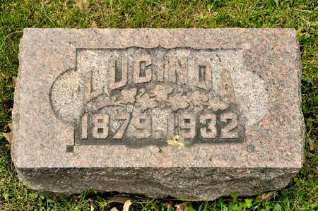 REGULA, LUCINDA - Richland County, Ohio | LUCINDA REGULA - Ohio Gravestone Photos