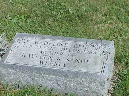REID, MADELINE - Richland County, Ohio | MADELINE REID - Ohio Gravestone Photos