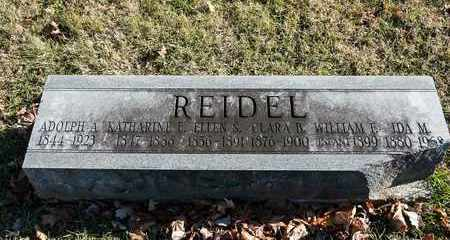 REIDEL, WILLIAM F - Richland County, Ohio | WILLIAM F REIDEL - Ohio Gravestone Photos