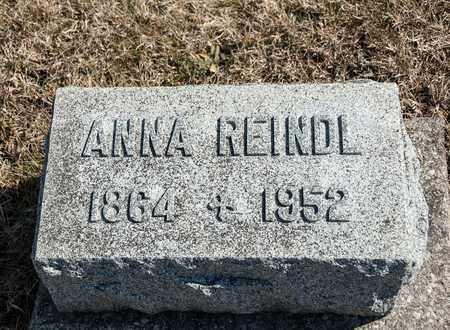 REINDL, ANNA - Richland County, Ohio | ANNA REINDL - Ohio Gravestone Photos
