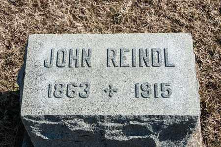 REINDL, JOHN - Richland County, Ohio | JOHN REINDL - Ohio Gravestone Photos