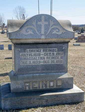 REINDL, LORENZ - Richland County, Ohio | LORENZ REINDL - Ohio Gravestone Photos