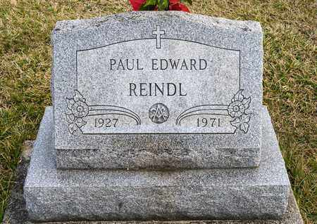 REINDL, PAUL EDWARD - Richland County, Ohio | PAUL EDWARD REINDL - Ohio Gravestone Photos