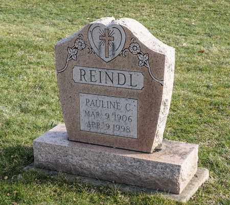 REINDL, PAULINE C - Richland County, Ohio | PAULINE C REINDL - Ohio Gravestone Photos
