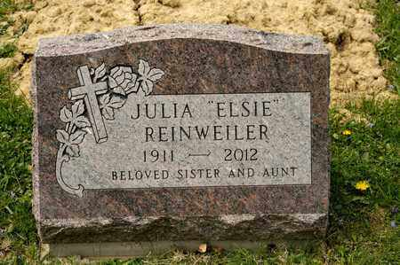"REINWEILER, JULIA ""ELSIE"" - Richland County, Ohio 