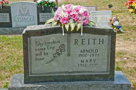 REITH, MARY - Richland County, Ohio | MARY REITH - Ohio Gravestone Photos