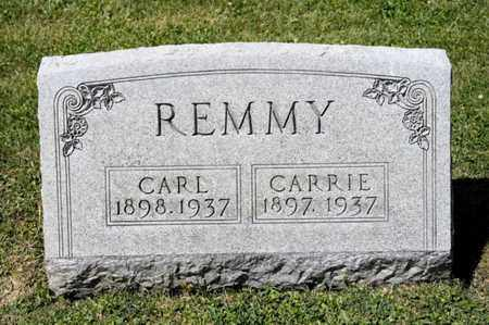 REMMY, CARL - Richland County, Ohio | CARL REMMY - Ohio Gravestone Photos