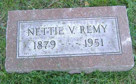 REMY, NETTIE V. - Richland County, Ohio | NETTIE V. REMY - Ohio Gravestone Photos