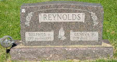 REYNOLDS, DELPHOS A - Richland County, Ohio | DELPHOS A REYNOLDS - Ohio Gravestone Photos