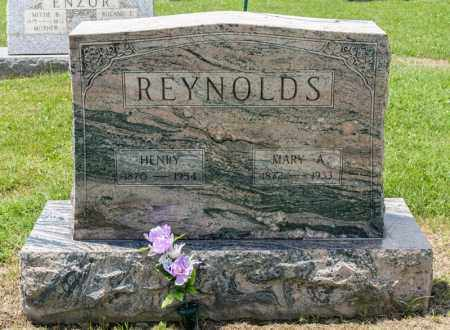REYNOLDS, MARY A - Richland County, Ohio | MARY A REYNOLDS - Ohio Gravestone Photos