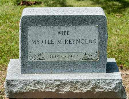 REYNOLDS, MYRTLE M - Richland County, Ohio | MYRTLE M REYNOLDS - Ohio Gravestone Photos