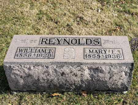 REYNOLDS, WILLIAM F - Richland County, Ohio | WILLIAM F REYNOLDS - Ohio Gravestone Photos