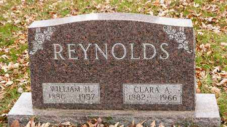 REYNOLDS, CLARA A - Richland County, Ohio | CLARA A REYNOLDS - Ohio Gravestone Photos