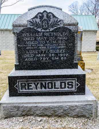 REYNOLDS, LUSETTY - Richland County, Ohio | LUSETTY REYNOLDS - Ohio Gravestone Photos