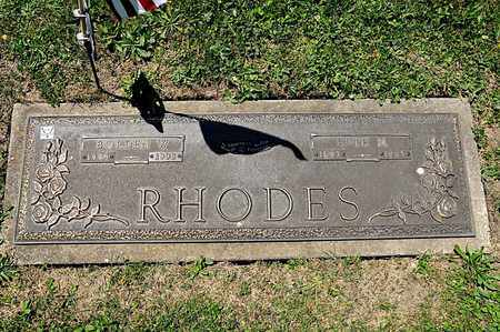 RHODES, RUTH N - Richland County, Ohio | RUTH N RHODES - Ohio Gravestone Photos