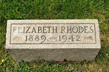 RHODES, ELIZABETH - Richland County, Ohio | ELIZABETH RHODES - Ohio Gravestone Photos