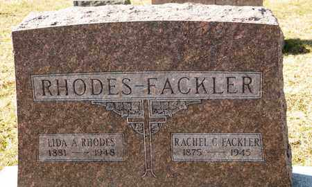 RHODES, LIDA A - Richland County, Ohio | LIDA A RHODES - Ohio Gravestone Photos