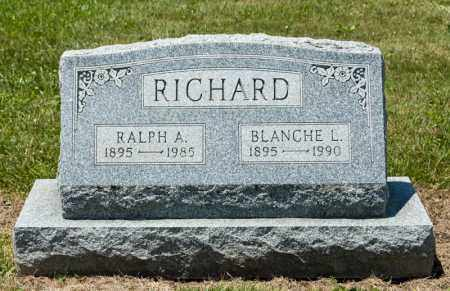 RICHARD, RALPH A - Richland County, Ohio | RALPH A RICHARD - Ohio Gravestone Photos