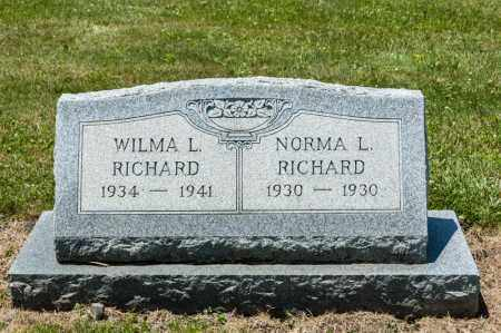RICHARD, WILMA L - Richland County, Ohio | WILMA L RICHARD - Ohio Gravestone Photos