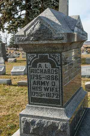 RICHARDS, A L - Richland County, Ohio | A L RICHARDS - Ohio Gravestone Photos