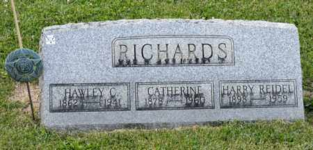 REIDEL RICHARDS, CATHERINE - Richland County, Ohio | CATHERINE REIDEL RICHARDS - Ohio Gravestone Photos