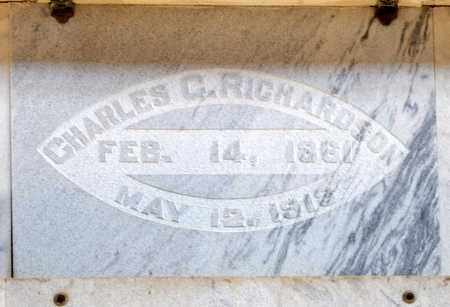 RICHARDSON, CHARLES C - Richland County, Ohio   CHARLES C RICHARDSON - Ohio Gravestone Photos