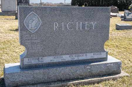 RICHEY, HERBERT M - Richland County, Ohio | HERBERT M RICHEY - Ohio Gravestone Photos