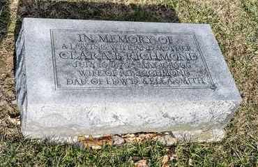 RICHMOND, CLARA B - Richland County, Ohio | CLARA B RICHMOND - Ohio Gravestone Photos