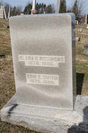 SMITH, TOM E - Richland County, Ohio | TOM E SMITH - Ohio Gravestone Photos
