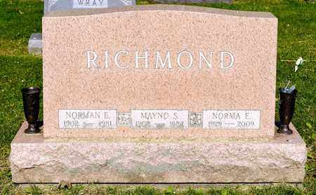 RICHMOND, NORMAN E - Richland County, Ohio | NORMAN E RICHMOND - Ohio Gravestone Photos