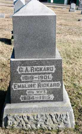 RICKARD, EMALINE - Richland County, Ohio | EMALINE RICKARD - Ohio Gravestone Photos