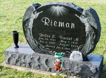 RIEMAN, HELEN E - Richland County, Ohio | HELEN E RIEMAN - Ohio Gravestone Photos
