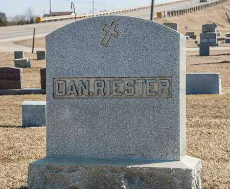 RIESTER, HARRY D - Richland County, Ohio | HARRY D RIESTER - Ohio Gravestone Photos