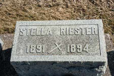 RIESTER, STELLA - Richland County, Ohio | STELLA RIESTER - Ohio Gravestone Photos