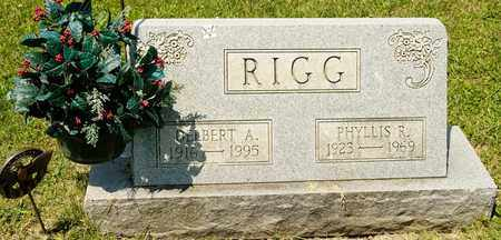 RIGG, DELBERT A - Richland County, Ohio | DELBERT A RIGG - Ohio Gravestone Photos